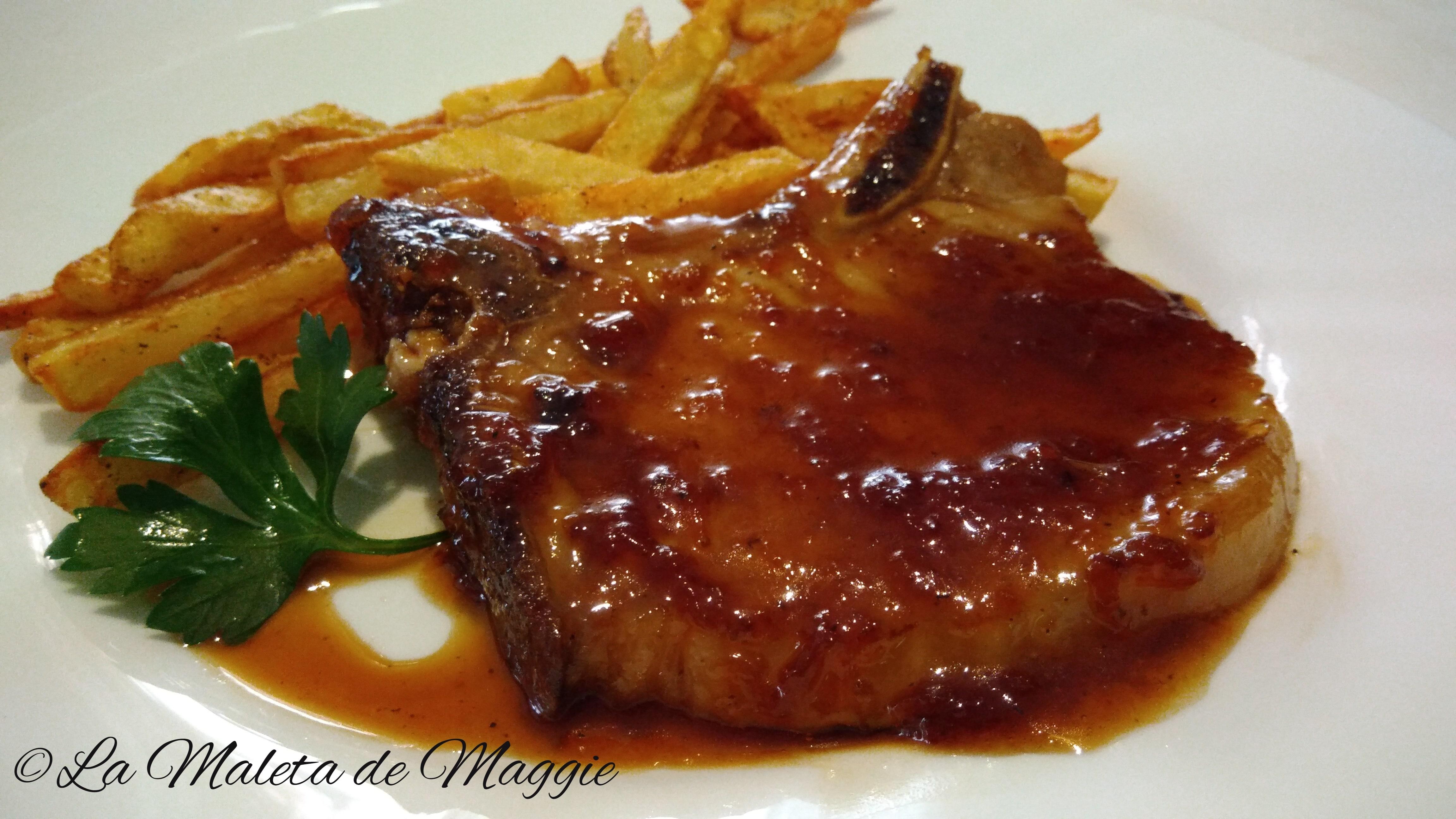 Chuletas De Cerdo En Salsa De Miel Las Mejores Recetas Saludables
