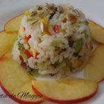 Ensalada de arroz con frutas