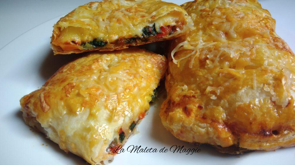 Empanadas individuales con verduras