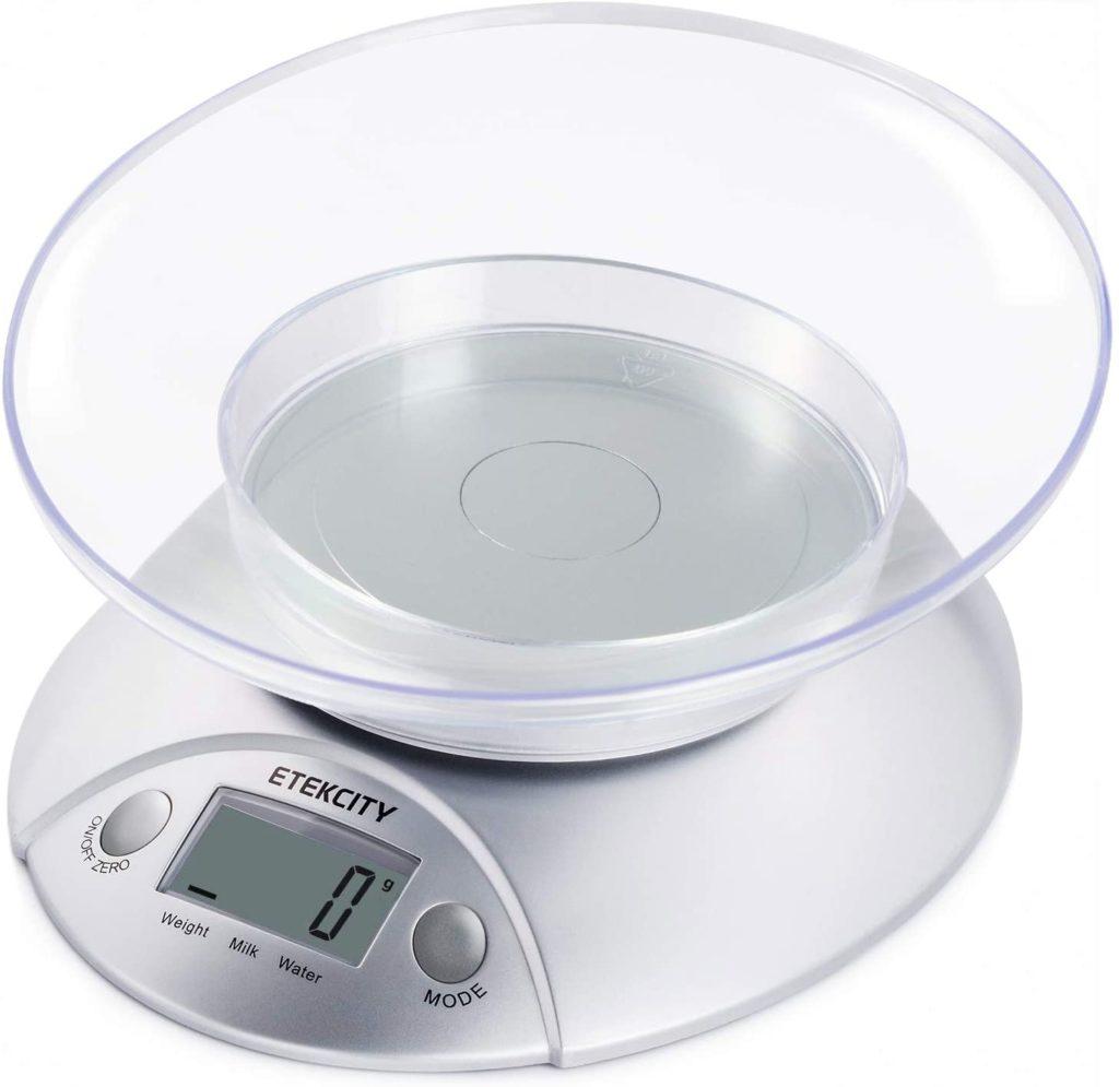 ETEKCITY EK3550 Báscula Digital para Cocina