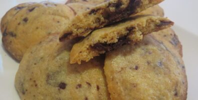 Cookies con chocolate
