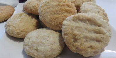 galletas de almendra y coco