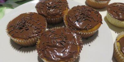 Muffins con pepitas de chocolate