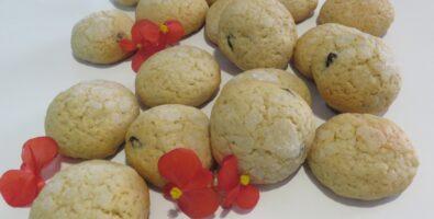 galletas integrales con arándanos