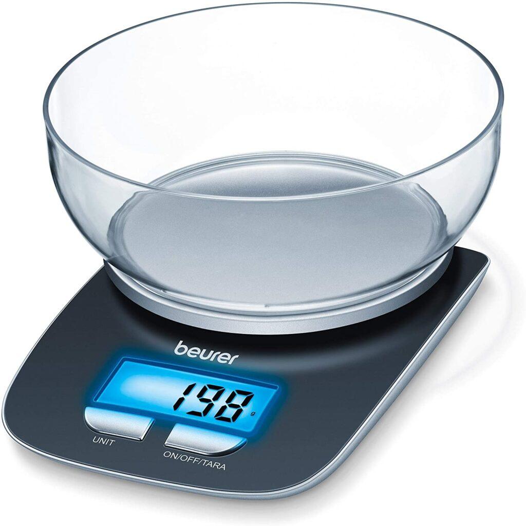 Beurer KS 25 Balanza de cocina con bol transparente