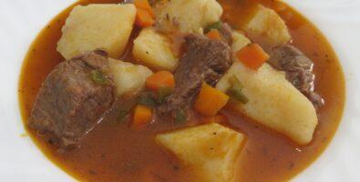 guiso de ternera con patata a las hierbas provenzales