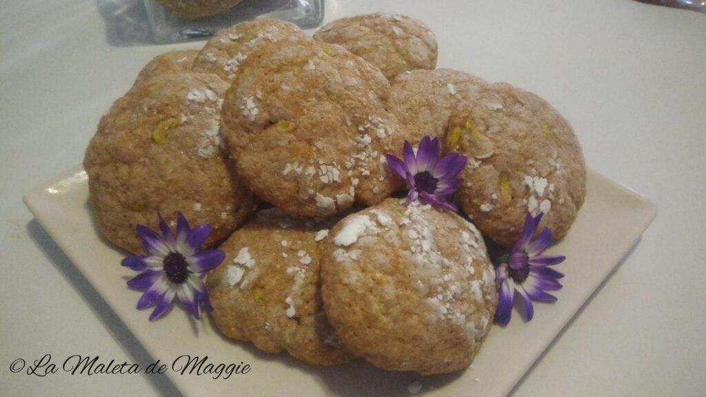 galletas integrales con naranja